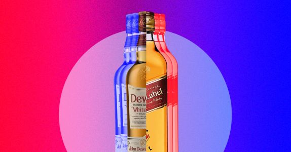 The Difference Between Johnnie Walker and Dewar's, Explained