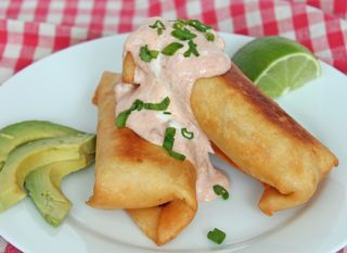 Easy Chimichangas Recipe