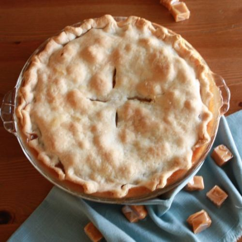 Brown Sugar Caramel Apple Pie