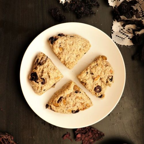 Olive and Seaweed Savory Scones