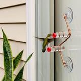 Hummingbirds Will Dine and Dash in Your Backyard All Summer With These Pretty Feeders