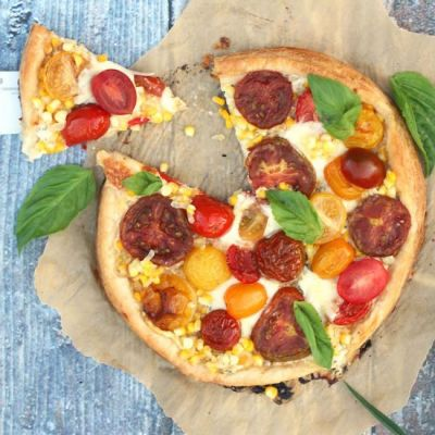 fast and delicious weeknight meal heirloom tomato and corn tart