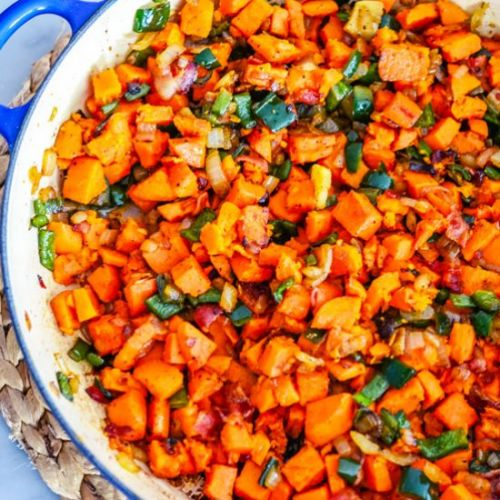 Sweet and Spicy Hash
