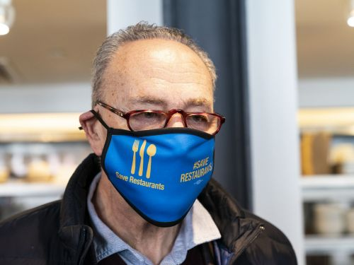 Sen. Schumer Explains How the Stimulus Bill Will Help Restaurants Recover 2020 Losses