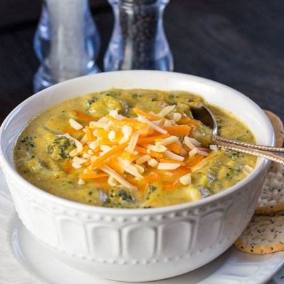Low Carb Broccoli Cheese Soup - Food - Food Drink Buzz