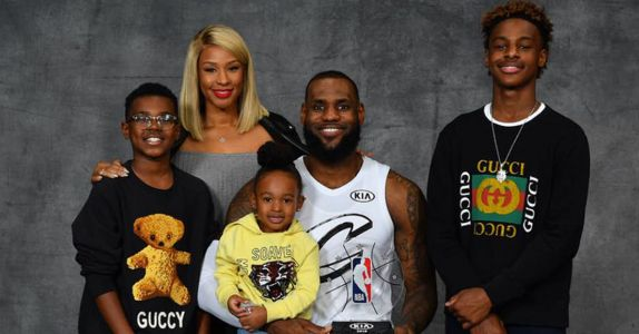 LeBron James, Wine Lover, Lets Lucky Sons 'Drink Whatever Dad's Having'