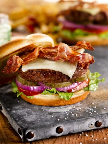 Spring Is $6 Bacon Cheddar Burger Time at O'Charley's