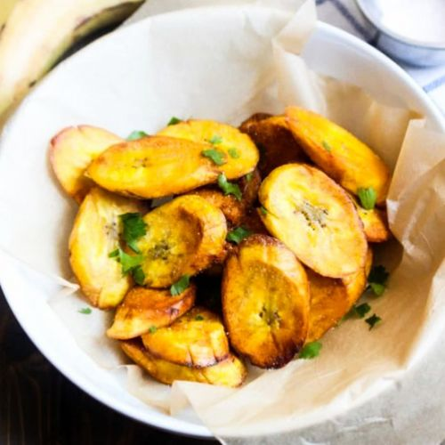 Crispy Fried Plantains