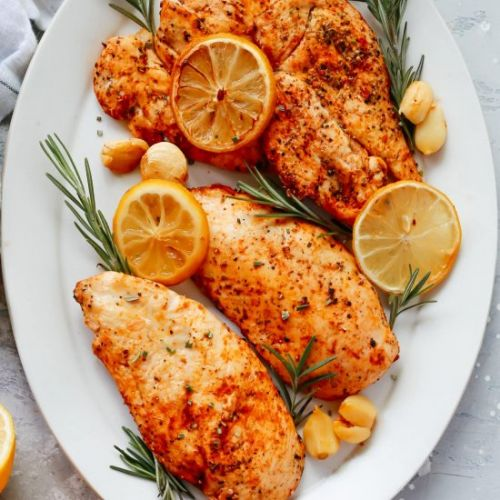 Rosemary Lemon Roasted Chicken