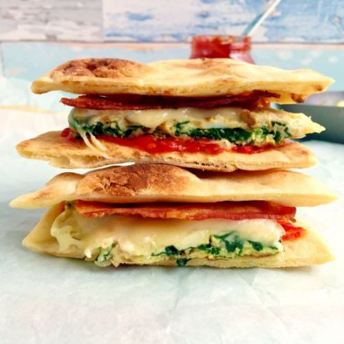 Spinach and Egg White Sandwich