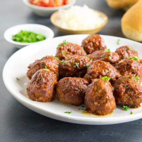 Meatballs in Chipotle-Lime Sauce
