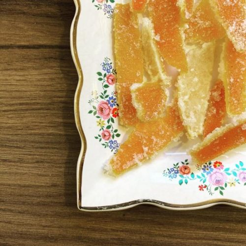 Candied Clementine Peel
