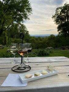 May 22-23: May's Featured Wine and Cheese Flight