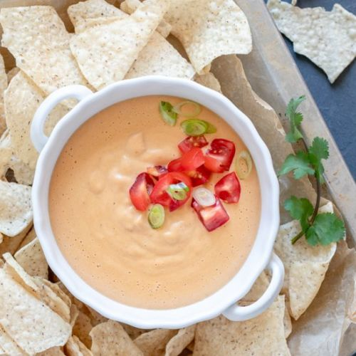 Easy Oil-Free Vegan Queso