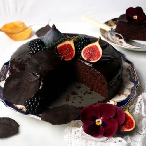 Autumn Chocolate Cake