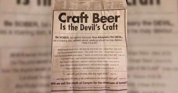 A Pastor Took Out an Ad to Shame Craft Beer - And a Local Bar Used it to Become the 'Best Beer Bar in Texas'
