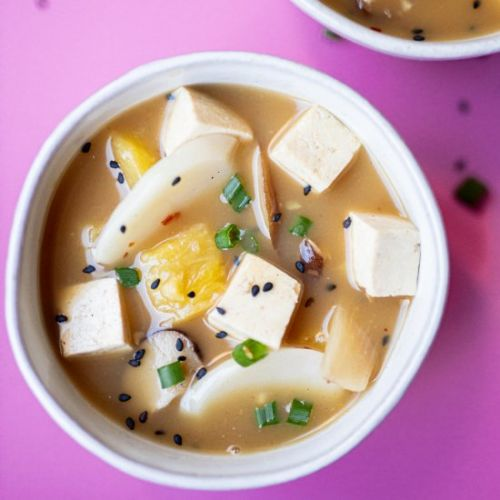 Vegan Hot & Sour Soup