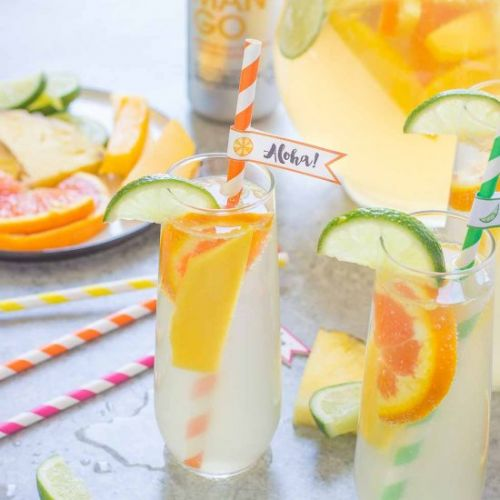 Tropical Orange Mango Sangria