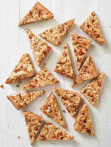 Crunchy Toffee Triangles