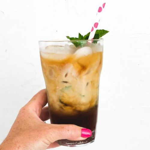Easy Mint Cold Brew