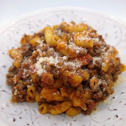 Vegetarian Hamburger Helper