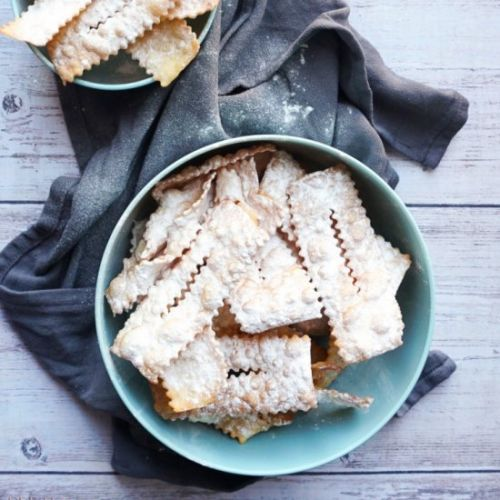 Cenci, Fried Pastry Ribbons