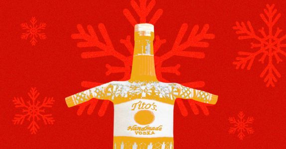Tito's Vodka Is Releasing a Woven 'Ugly Sweater' Bottle This Fall - Here's Where To Get One
