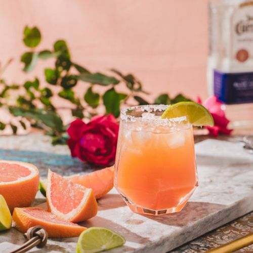 Healthy Grapefruit Margarita