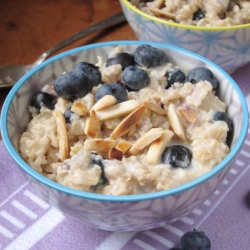 Blueberry Lavender Oatmeal