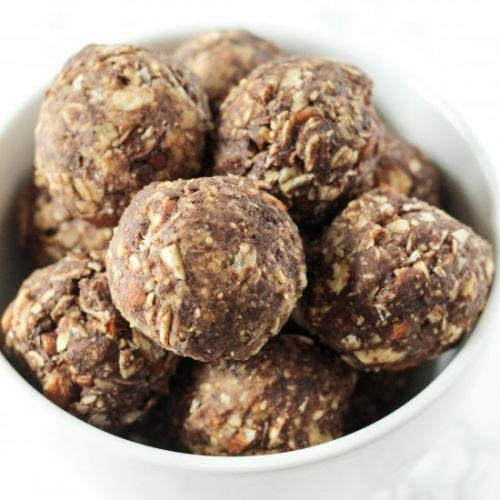 Chocolate Peanut Butter Snack Balls