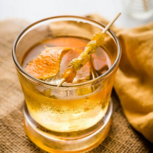 Spiced Rum Raisin Old Fashioned