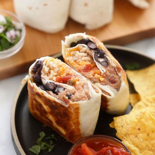 6-Ingredient Bean Burritos