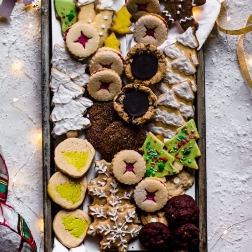 40+ Healthy Christmas Cookies