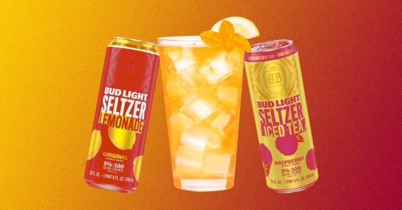 Make Your Own Arnold Palmers With Bud Light Seltzer's New Lemonade, Iced Tea Variety Pack
