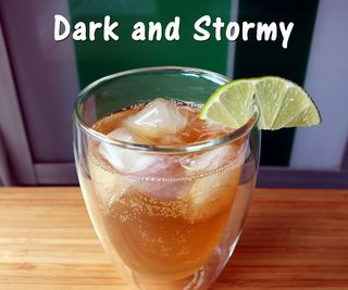 classic Dark and Stormy with its little spicy kick is a great drink ...