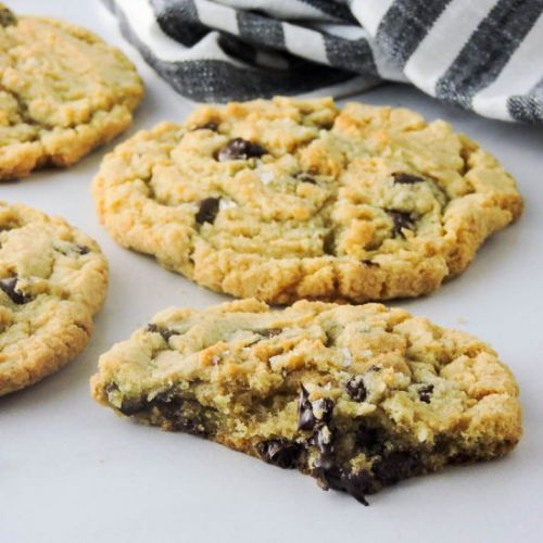 Browned Butter Choc Chip Cookies