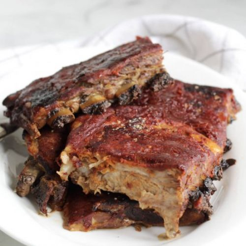 Slow Oven Baked Ribs