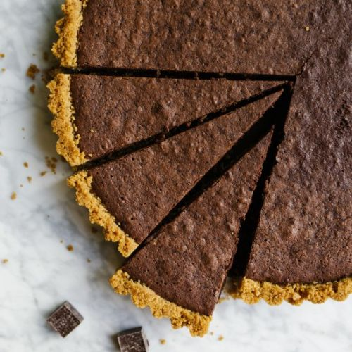 Fudge Brownie Tart