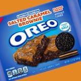 Oreo's Decadent Salted Caramel Brownie Cookies Are Topped With a Tasteful Pinch of Salt