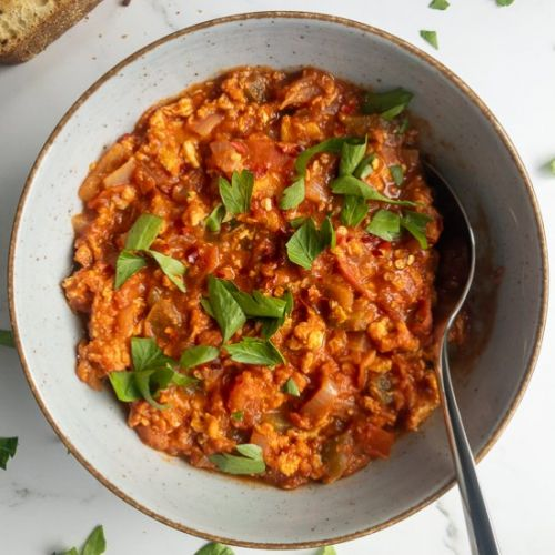 Savory Turkish Menemen