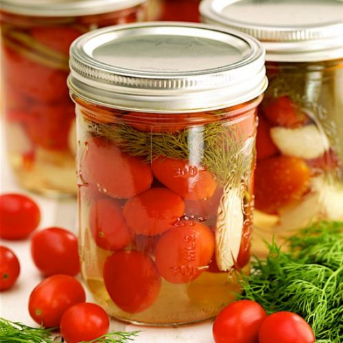 Pickled Grape or Cherry Tomatoes