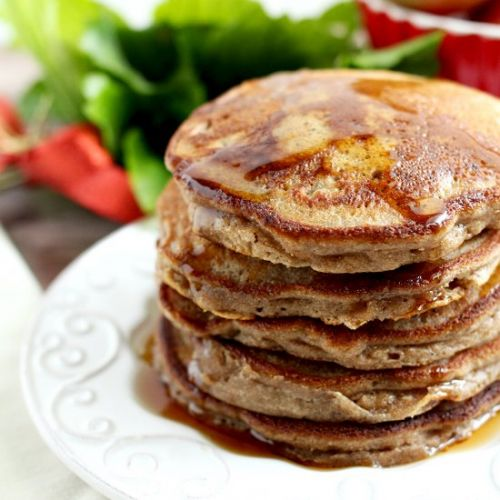 Paleo Cinnamon Apple Pancakes