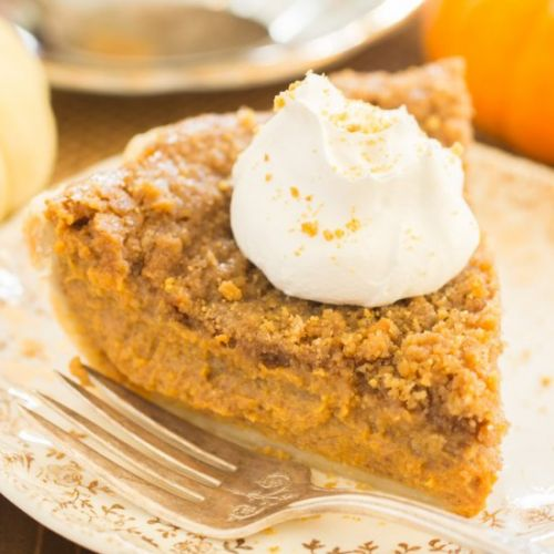 Eggnog Pumpkin Pie
