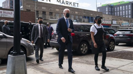 Biden Opens Restaurant Fund With Visit To D.C. Taqueria That's Been On The Brink