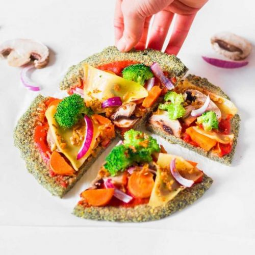 Lentil Crust Pizza
