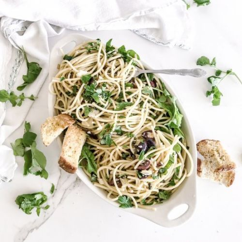 Brown Butter Bucatini Pasta