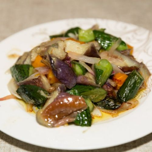 Eggplant stir fry cucumber recipes