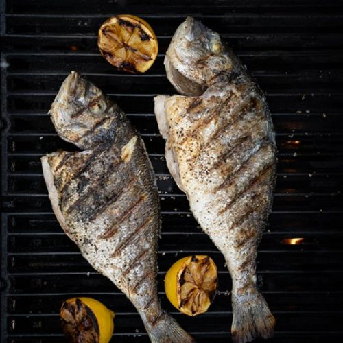 Easy sea bream on the grill