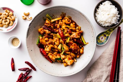 Better Than Takeout No Peanut Kung Pao Chicken Stir Fry Recipe