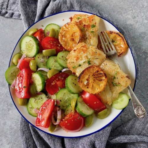 Easy pan-roasted fish fillets